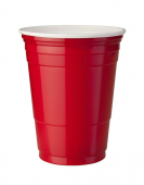 Solo Plastic Cup Red 12oz (354 ml)