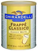 Ghirardelli White Chocolate Frappe 1,4 Kg (1 Ds)