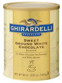 Ghirardelli White Chocolate Hot 1,4 Kg(1 Ds)