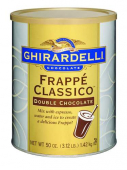 Ghirardelli Double Chocolate Frappe 1,4 Kg (1 Ds)