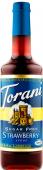 Erdbeere / Strawberry zuckerfrei - Aroma Sirup - 750 ml