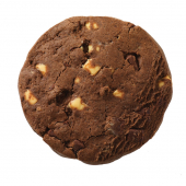 Cookie mit weißer, Vollmilch & dunkler Schokolade