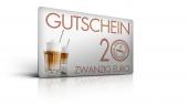 Gutschein 20,- Euro